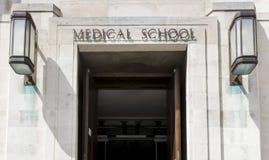 Facoltà di Medicina fotografie stock libere da diritti