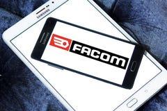 FACOM tools company logo. Logo of FACOM tools company on samsung mobile Royalty Free Stock Photos
