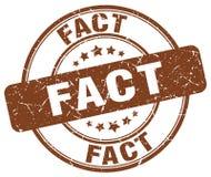 fact brown stamp royalty free illustration