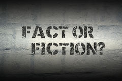 Fact or fiction gr Royalty Free Stock Images