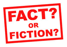 FACT OR FICTION? Stock Photo