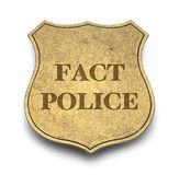 Fact Police Stock Image