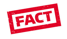 Fact rubber stamp Stock Images