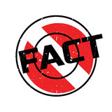 Fact rubber stamp Royalty Free Stock Image
