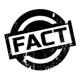 Fact rubber stamp Stock Photography