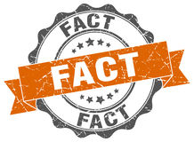 Fact stamp Royalty Free Stock Image