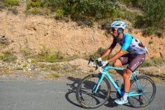 Cycle Racer Julien Duval, AG2R LA Mondiale stock photo