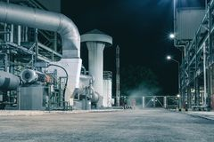 Factories Royalty Free Stock Images