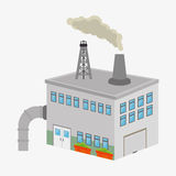 Factories and industries graphic. Design, vector illustration eps10 Stock Photography