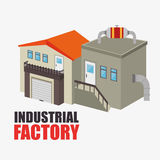 Factories and industries graphic. Design, vector illustration eps10 Royalty Free Stock Photos
