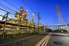 Factories in Japan Royalty Free Stock Photography