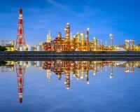 Factories in Japan Stock Photo