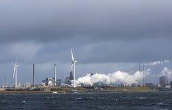 Tata Steel in IJmuiden Holland Royalty Free Stock Photo
