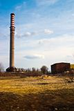 Factory. Ruins of a very heavily polluted industrial site, 1890's the place was known as one of the most polluted towns in Europe Stock Photos