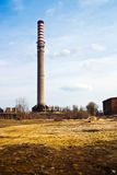 Factory. Ruins of a very heavily polluted industrial site, 1890's the place was known as one of the most polluted towns in Europe stock images