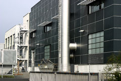 Factory #2. A modern factory in Germany Stock Image