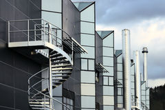 Factory #2. A factory building in Germany Stock Image