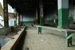 Factory#2 abandonné Photo libre de droits