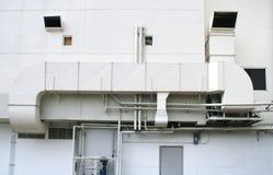 Factory air tube Stock Photo