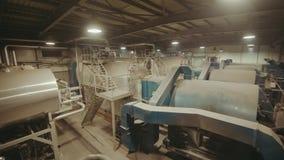 Factory boiler house stock video