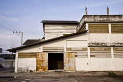 Factory building Royalty Free Stock Photos