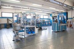 Factory - Building line e machine for automation Stock Photos