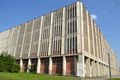The factory building. Stock Photo