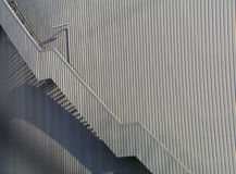 Factory building with staircase stock images