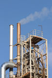 Factory chimney Royalty Free Stock Photo