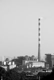 Factory chimney Stock Photography