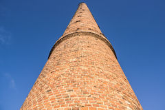 Factory chimney built of brick Royalty Free Stock Photo