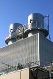 Factory chimneys  Royalty Free Stock Image