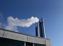 Factory chimneys Royalty Free Stock Photo