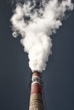 Factory chimneys Stock Images