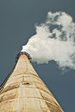 Factory chimneys Stock Image