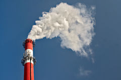 Factory chimneys Stock Photography