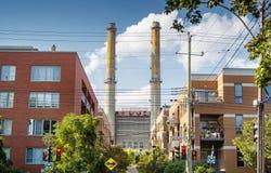 Factory chimneys Royalty Free Stock Photography
