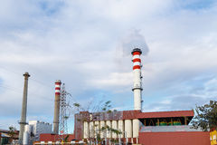 Factory chimneys Stock Photo