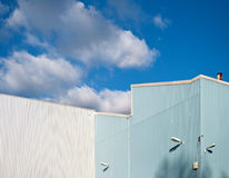 Factory cladding Royalty Free Stock Photo