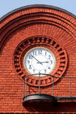 Factory Clock 1. Old factory Clock royalty free stock photos