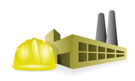 Factory construction Royalty Free Stock Images