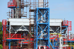 Factory construction site industry detail Royalty Free Stock Images