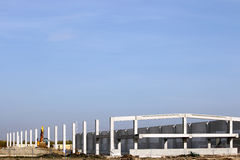 Factory construction site industry zone Royalty Free Stock Photos