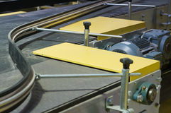 The factory conveyor. Royalty Free Stock Photo