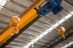 Factory Crane Royalty Free Stock Photo