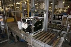 Factory - Dishwasher Production Stock Image