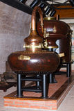 Factory on distillation of cognac Stock Photo