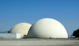 Factory Domes Royalty Free Stock Photos
