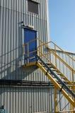 Factory door Royalty Free Stock Image