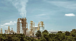 Factory and environment Stock Photography